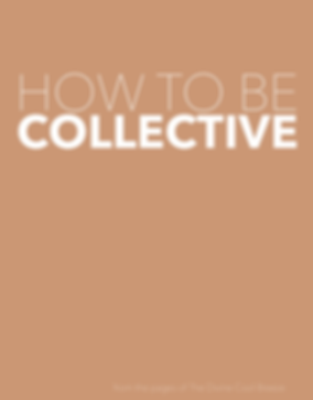 How to be Collective cover.png