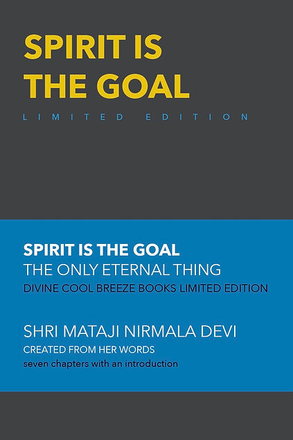 SPIRIT IS THE GOAL LE