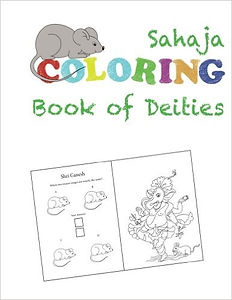 SAHAJA COLORING BOOK OF DEITIES