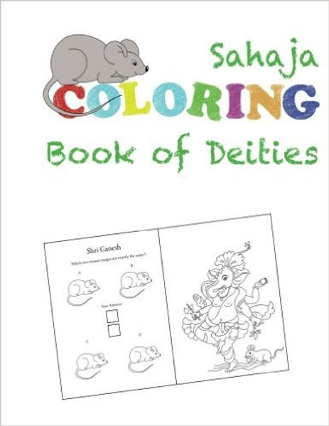 SAHAJA COLORING BOOK OF DEITIES