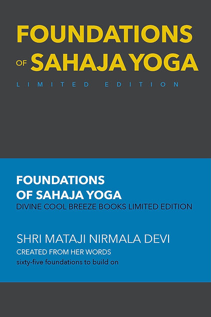 FOUNDATIONS OF SAHAJA YOGA limited edition