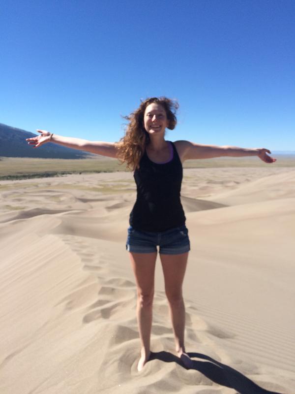 A Giant Sand Dune