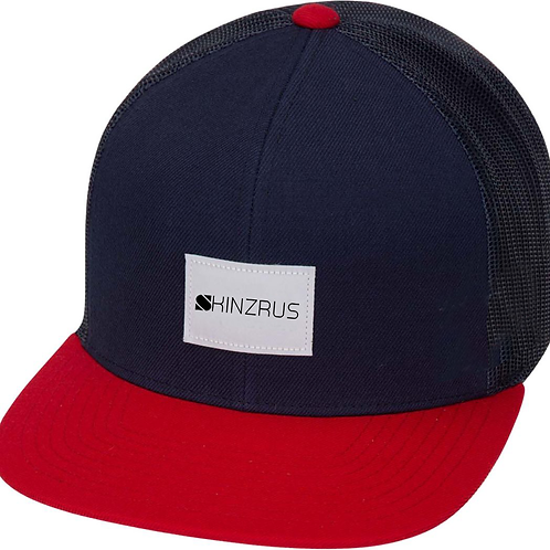 Red and Blue Trucker hat - 800 points