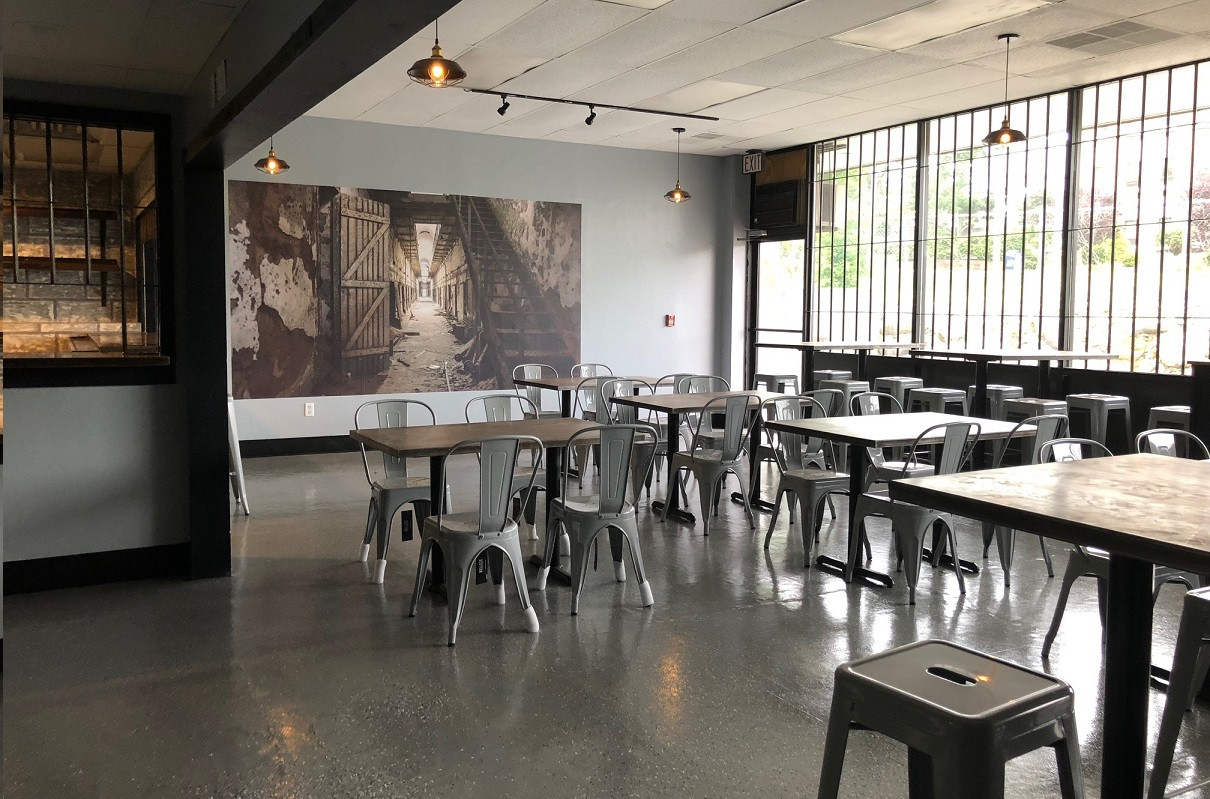 Wide open, themed space for your next private event.