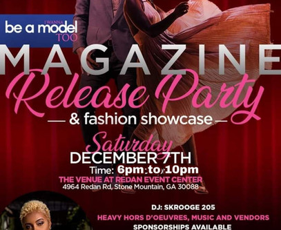 MAGAZINE RELEASE PARTY