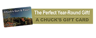 Gift Card at Chuck'sGun and Pawn