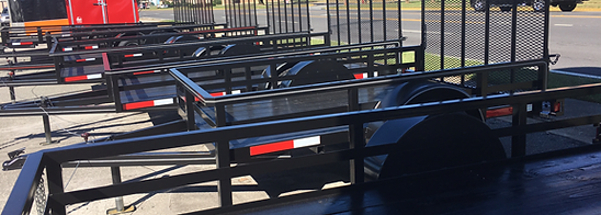 Utility Trailers, Chuck's Gun and Pawn, Big Tex trailers