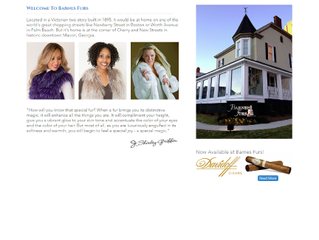 Bibb Media Finalizes Re-design of Barnes Furs Website.