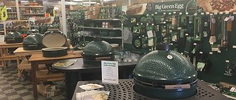 Big Green Egg, Chuck's Gun and Pawn, Ace Hardware
