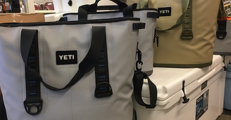 Yeti coolers, Chuck's Gun and Pawn, Academy Sports