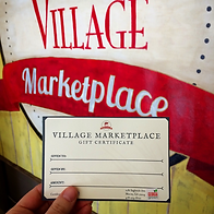 Village Marketplace Gift Card makes the perfect gift