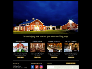 Bibb Media Completes Redesign Of Twin Oaks Farm Weddings Website