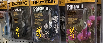 Browning Knives, Chuck's Gun and Pawn, Bass Pro