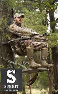 Summit tree stands, Chuck's Gun and Pawn, Bass Pro