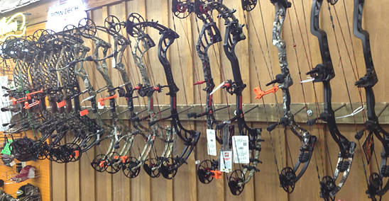 Georgia full service archery, Chuck's Gun and Pawn