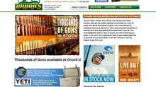 Bibb Media completes development of Chuck's Gun & Pawn new website.