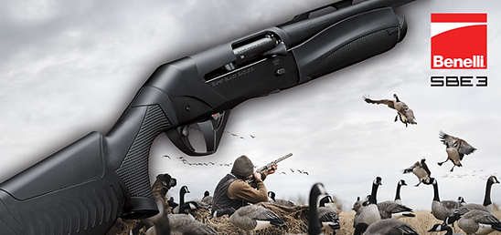Benelli firearms at Chuck's Gun and Pawn