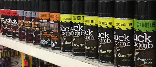 Deer scent, Chuck's Gun and Pawn, Bass Pro