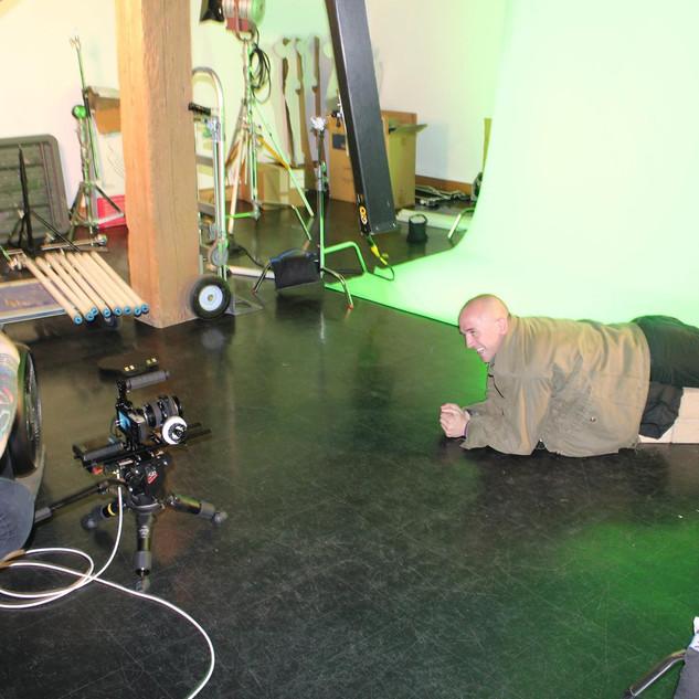 Nic directing on Year of the Snake at Radar Studios