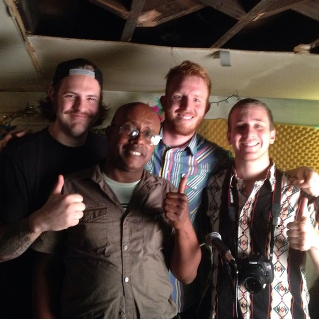 shoot with david liebe hart of Tim and Eric Awesome Show!