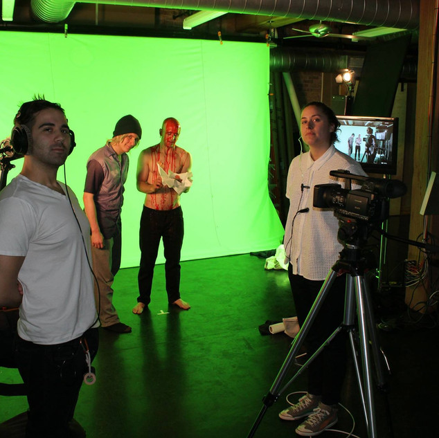 Directing at Radar Studios