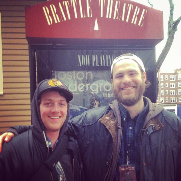 boston underground film fest with DP ben fout