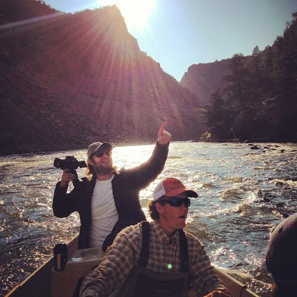 shooting commerical on the colorado river