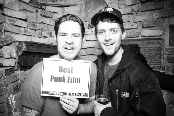 at indie incubator film fest with DP ben fout
