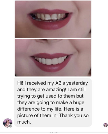 Amazing!!! another life & smile transfor