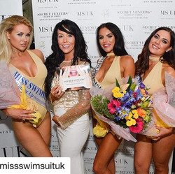 #Repost _missswimsuituk_・・・_Congratulations to our top 3! 1st place _poppyhaskell 1st runner _fayeevette & 2nd runner up _missgeorgiaking 👑👑