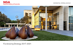 NGA Fundraising Strategy 2017–2021