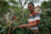 Sobur, a Certified Coffee Farmer in Indonesia | © Fairtrade