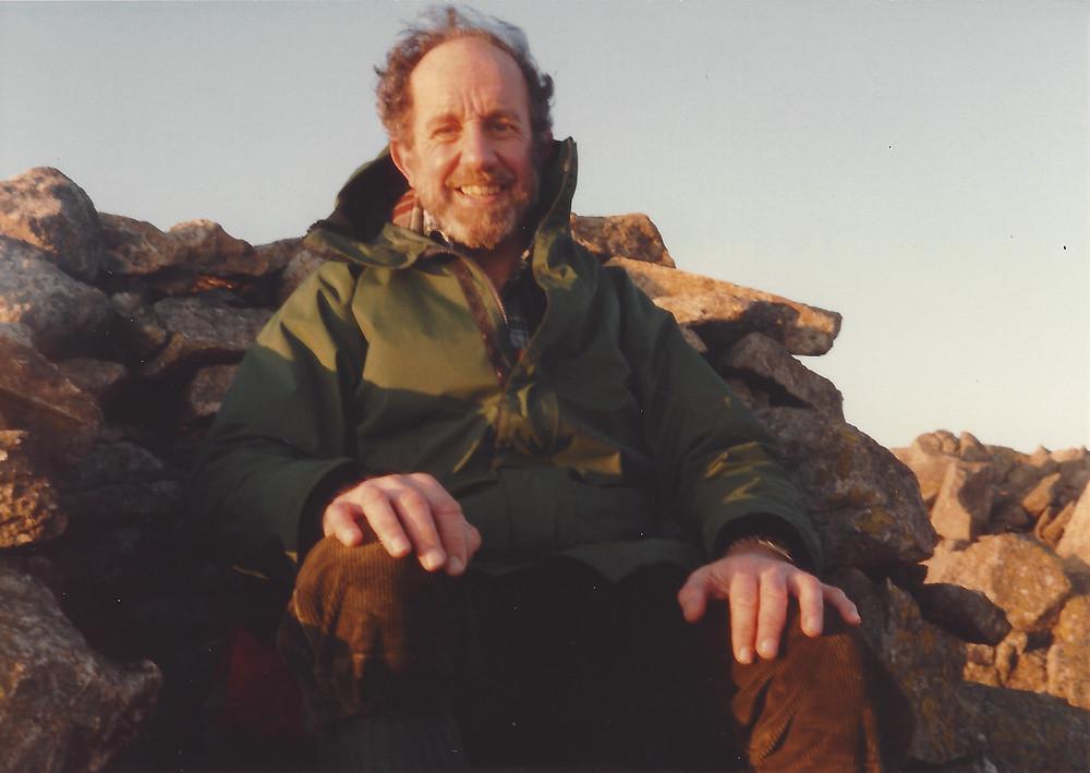 Eric Plumpton in the Lake District 1985