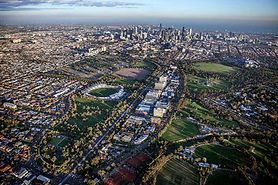 Aerial View of the City of Yarra, Andrew Curtis