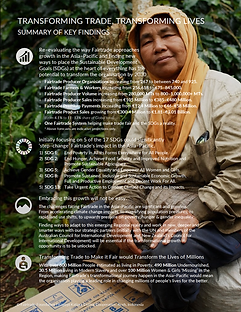 Transforming Trade,Transforming Lives Executive Summary