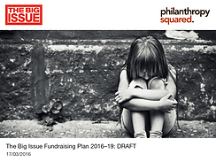 The Big Issue Fundraising Plan