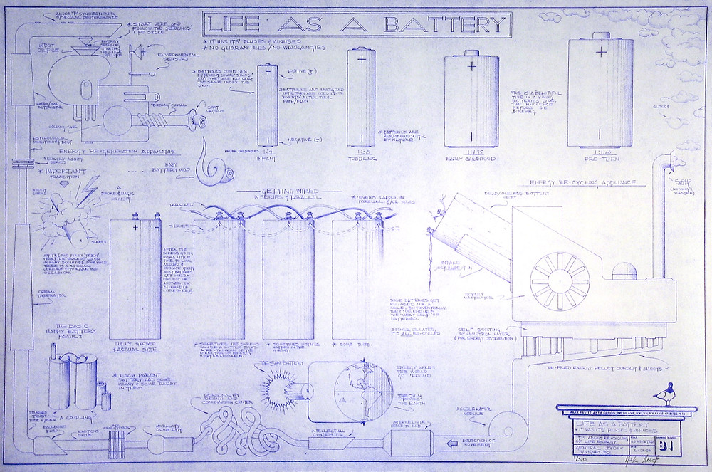 My Life as a Battery by Mark Ravitz