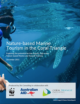 Nature-Based Marine Tourism in the Coral Triangle