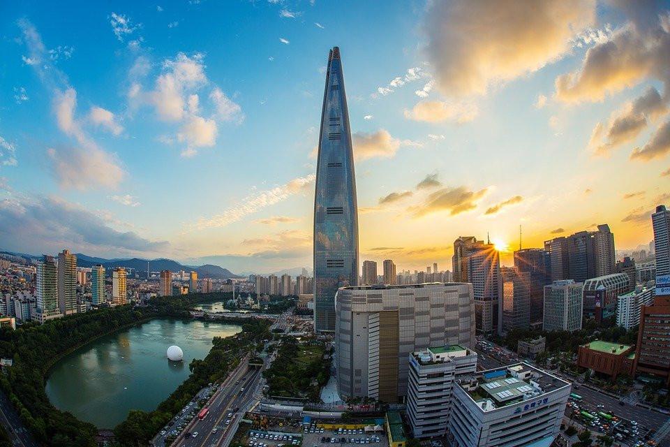 Seoul City Skyline