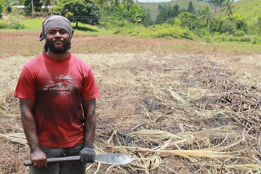 Fijian Sugar Cane Farmer