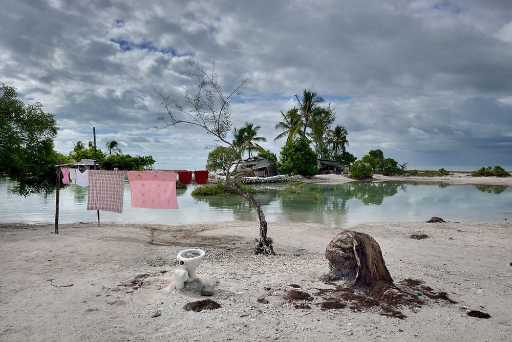Kiribati Sinking beneath the waves...