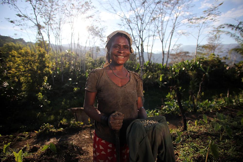 Smallholder Farmer in Papua New Guinea
