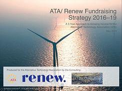 ATA/ Renew Fundraising Strategy 2016–18