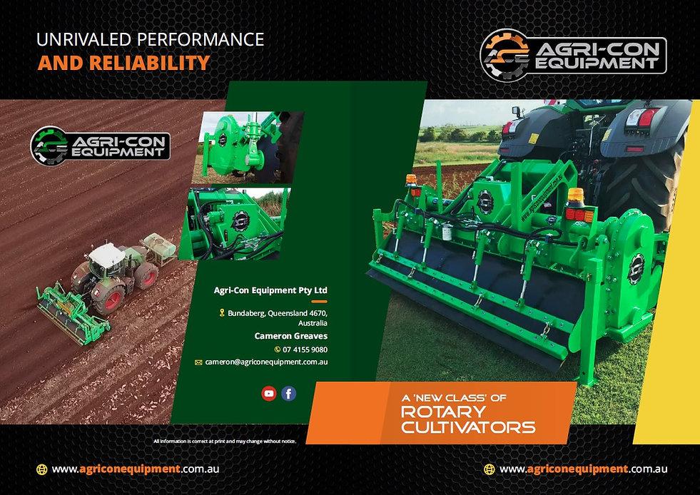 Rotary, rotary hoe, heavy duty rotary hoe, ace rotary hoe, agri-con, agri-con equipment, ace rotary