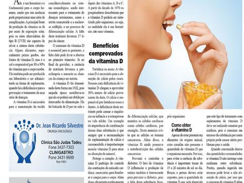 Vitamina D previne 17 tipos de câncer e pode ser um tratamento para doenças autoimunes