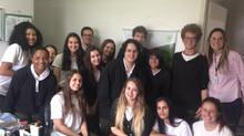 Visita técnica dos alunos da SATC nos laboratórios da Biozenthi