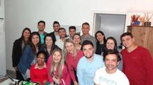 Visita dos alunos de Administração Comércio Exterior na Biozenthi
