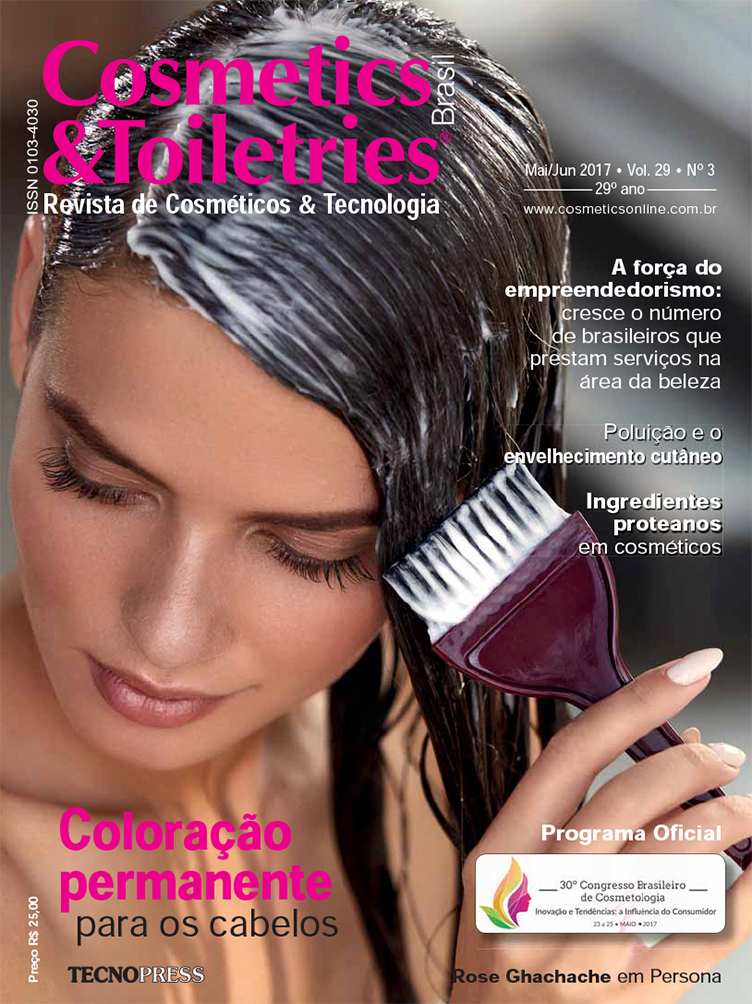 Revista Cosmetics & Toiletries - capa