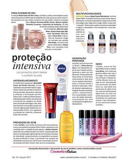 Revista Cosmetics & Toiletries - bases