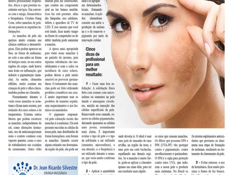 Cinco Segredos para o clareamento da pele